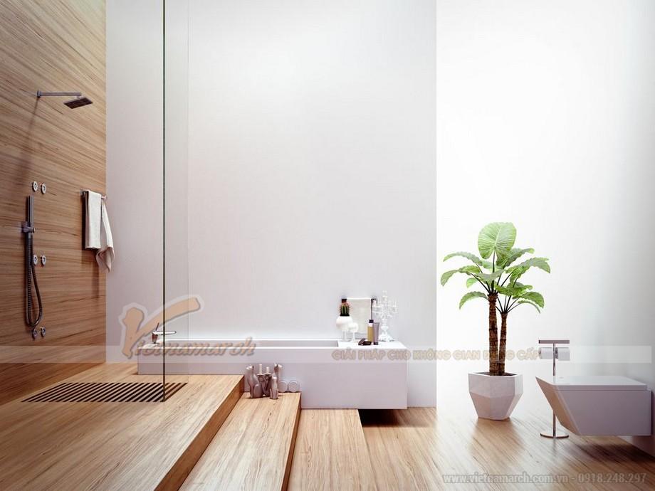 Những nguyên tắc phong thủy không được phạm phải khi thiết kế phòng tắm 01