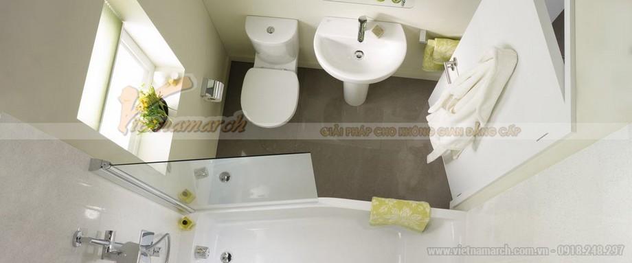 Những nguyên tắc phong thủy không được phạm phải khi thiết kế phòng tắm 03