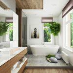 Những nguyên tắc phong thủy không được phạm phải khi thiết kế phòng tắm