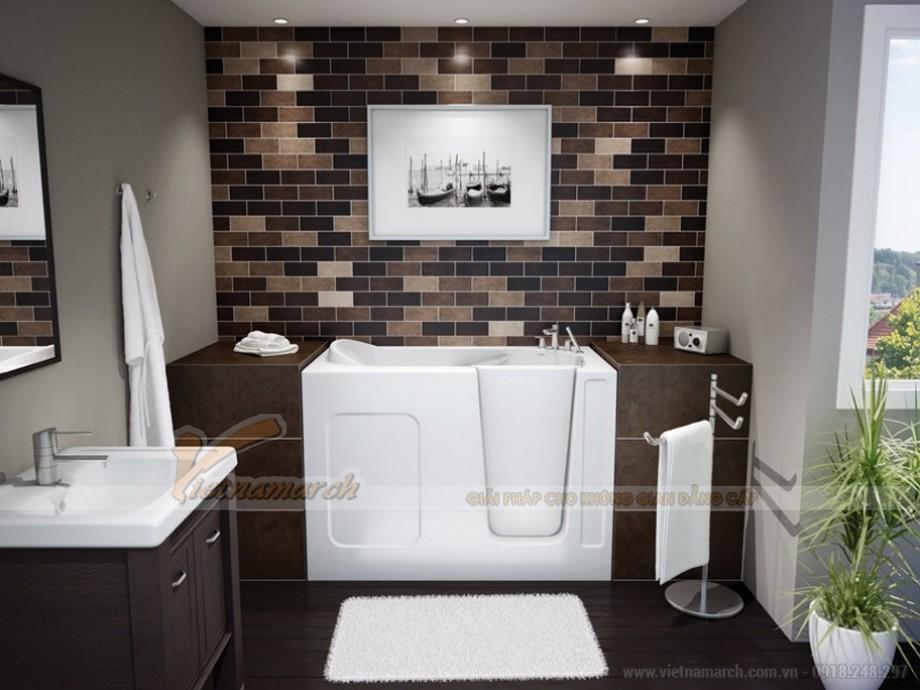 Những nguyên tắc phong thủy không được phạm phải khi thiết kế phòng tắm 05