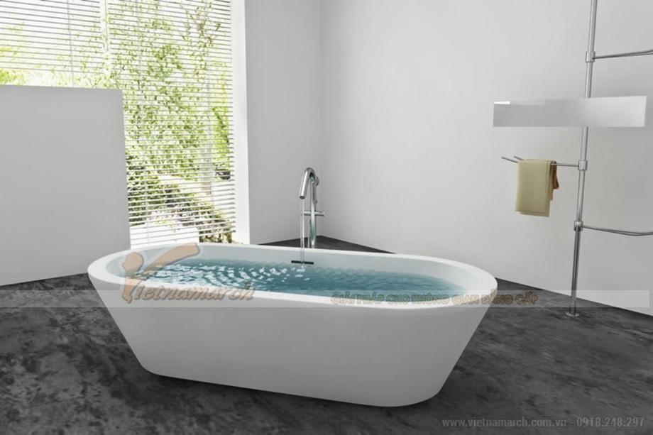 Những nguyên tắc phong thủy không được phạm phải khi thiết kế phòng tắm 06