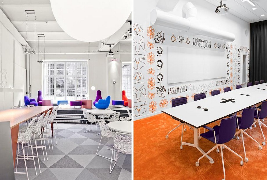 Phong cách thiết kế văn phòngđa năng