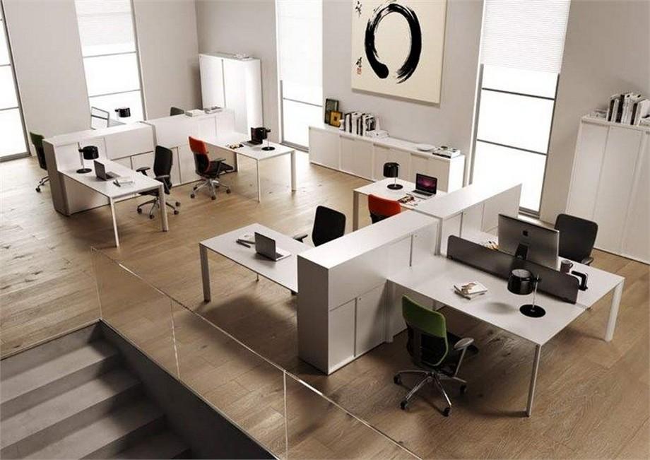 Phong cách thiết kế văn phòng tối giản