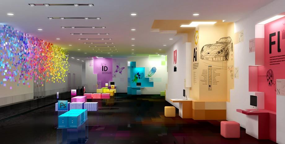 Phong cách thiết kế văn phòng mang tính nghệ thuật