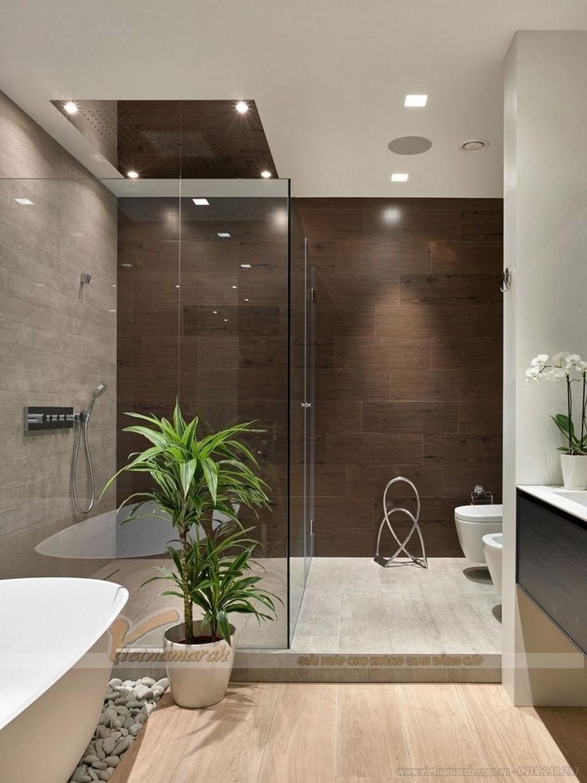 Phong thủy khi thiết kế phòng tắm giúp gia chủ luôn mạnh khỏe, xua đi tà khí