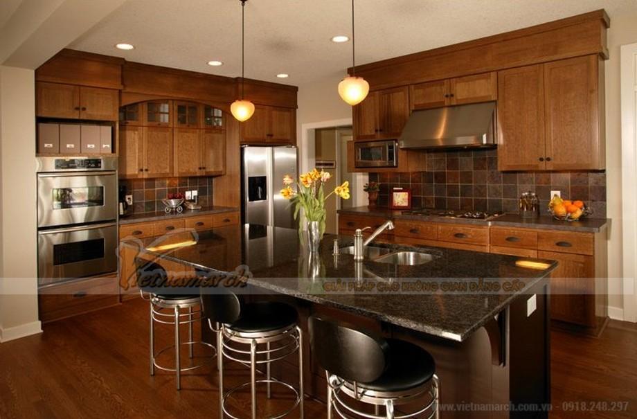 Tất tần tật những điều bạn cần biết khi chọn tủ bếp gỗ tự nhiên