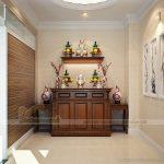 Những lưu ý khi bài trí bàn thờ truyền thống để rước tài lộc vào nhà.