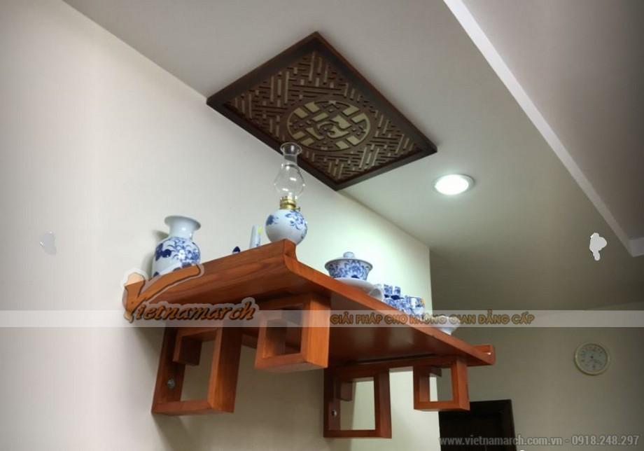 Mẫu bàn thờ treo cho nhà chung cư