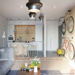 Tư vấn thiết kế nội thất căn hộ chung cư 1 phòng ngủ hiện đại