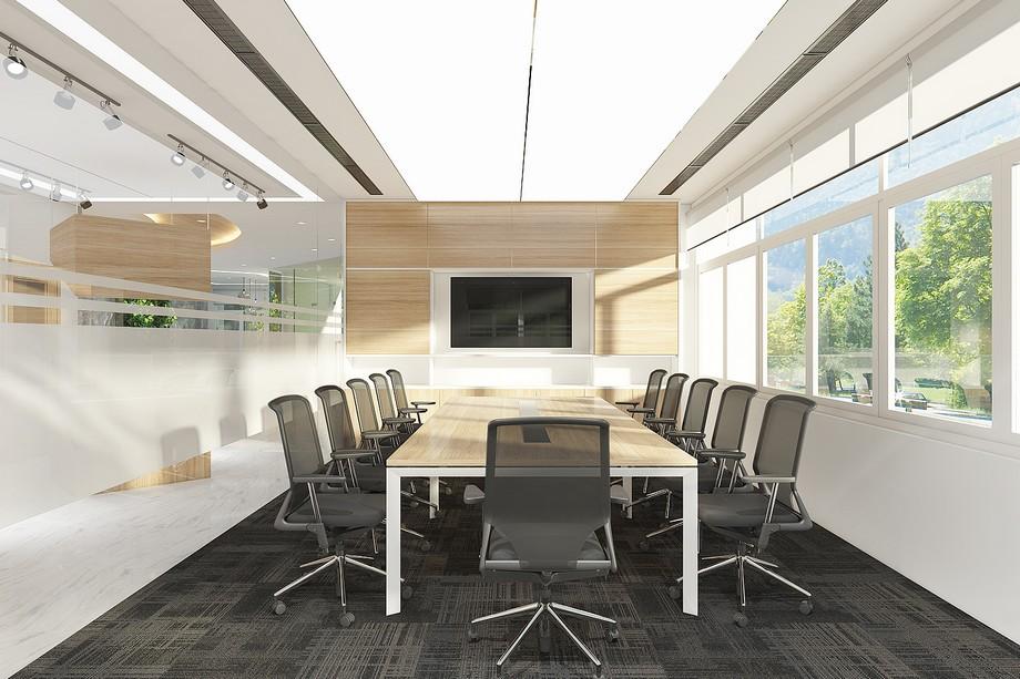 Phong cách thiết kế văn phòng mở