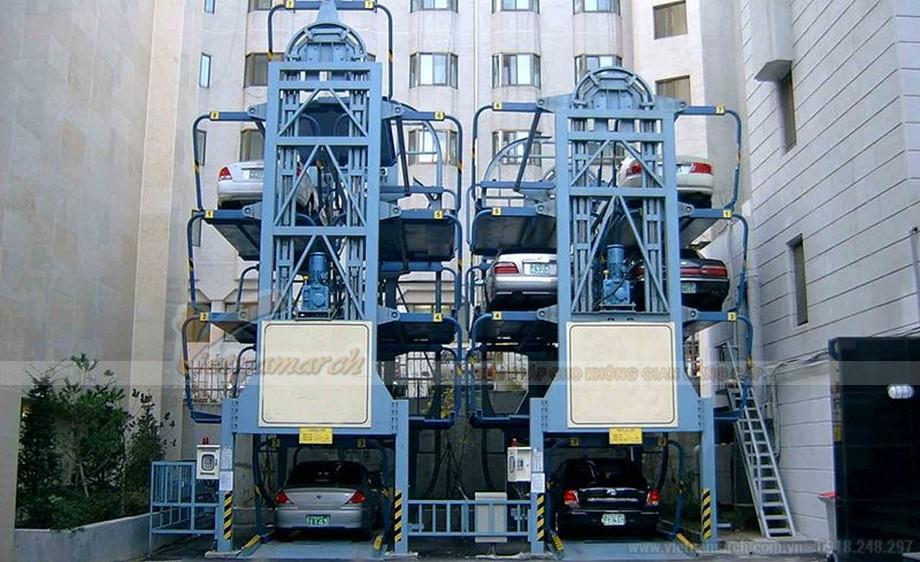 Tìm hiểu hệ thống bãi đỗ xe tự động xoay vòng - giải pháp đỗ xe cho khu chung cư, trung tâm thương mại