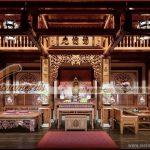 Những lưu ý về cách bố trí nội thất đồ thờ trong nhà thờ họ.