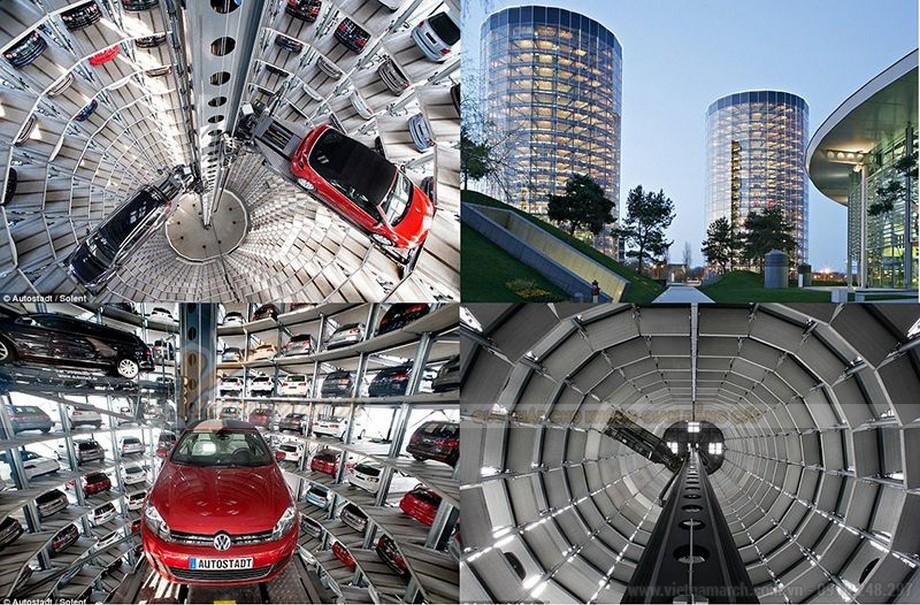 Hệ thống bãi đỗ xe tự động dạng hình tháp