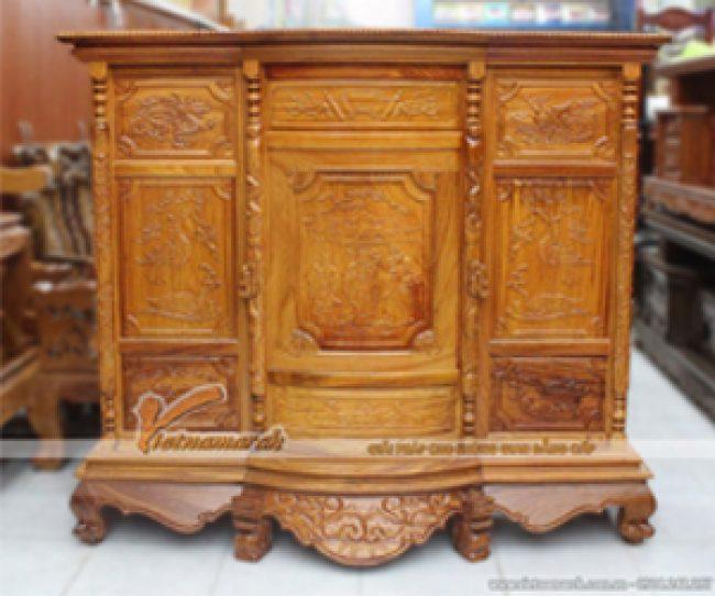 Mẫu tủ thờ đẹp truyền thống