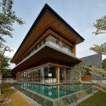 Biệt thự 2 tầng thu hút sự quan tâm của mọi người bởi thiết kế mới lạ