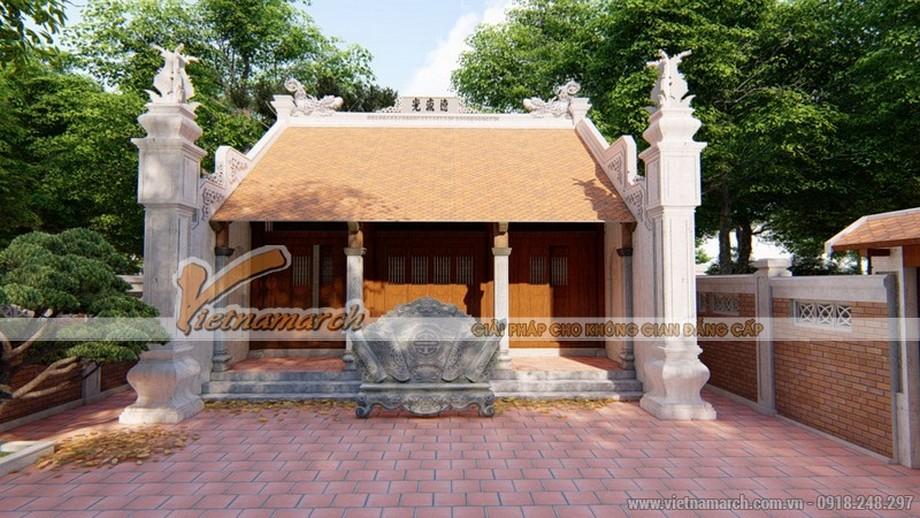 Mẫu nhà thờ họ tại Hải Dương