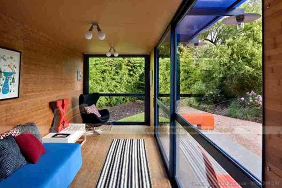 Ấn tượng với thiết kế nhà khách từ container
