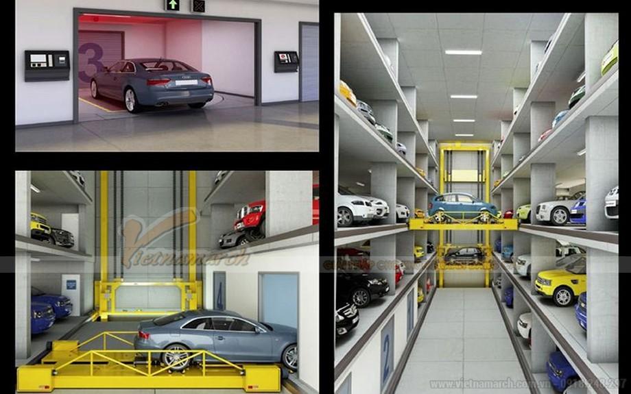 Ứng dụng bãi giữ xe thông minh di chuyển độc lập