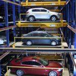 Bãi giữ xe thông minh từng tầng di chuyển độc lập
