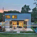 Chiêm ngưỡng căn nhà Container đẹp như trong truyện cổ tích của đôi vợ chồng người Nhật