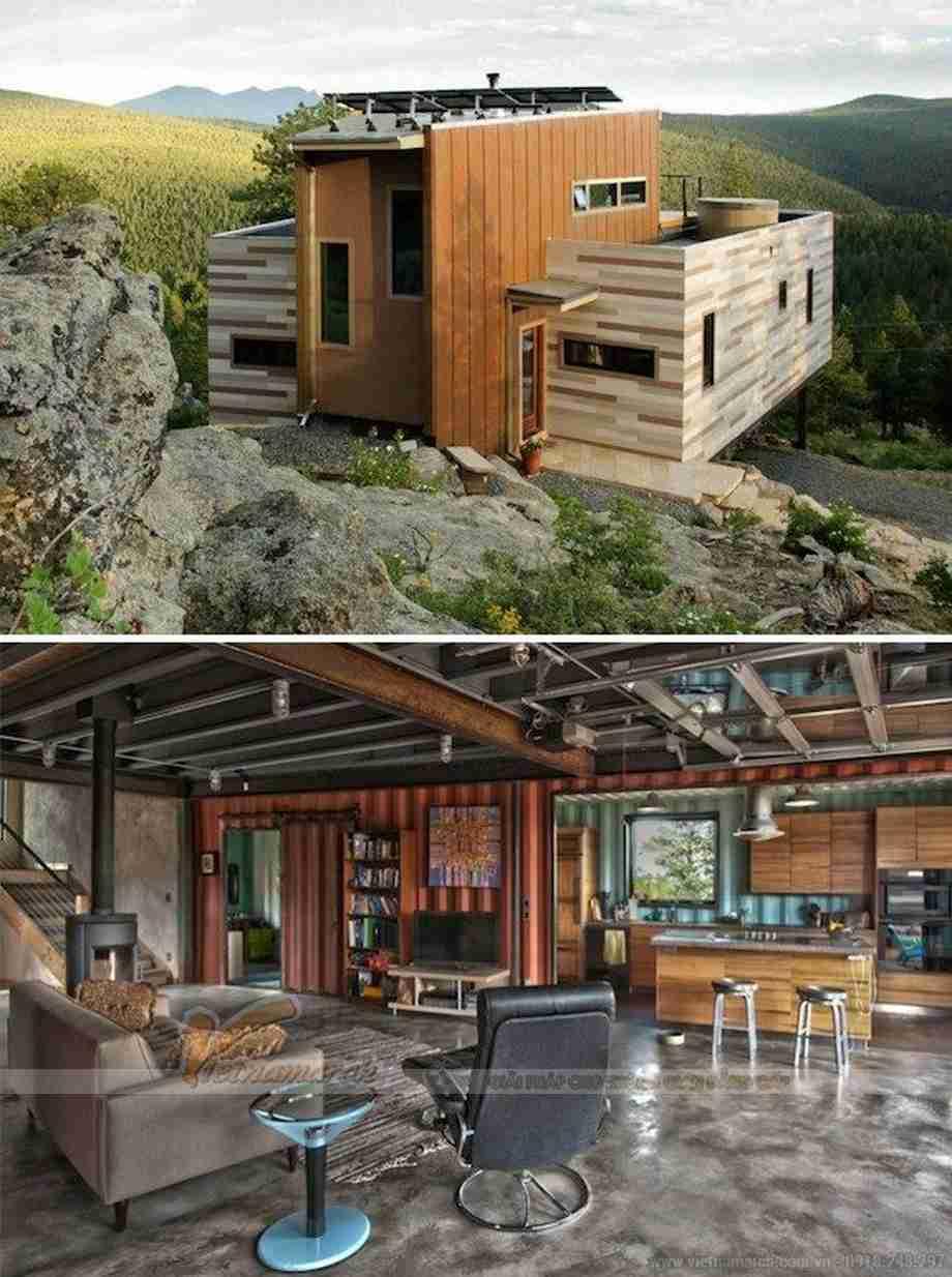 Nhà container Colorado của Studio H:T