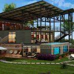Chìm đắm trong thiết kế biệt thự container đẹp sang trọng tại Indonesia