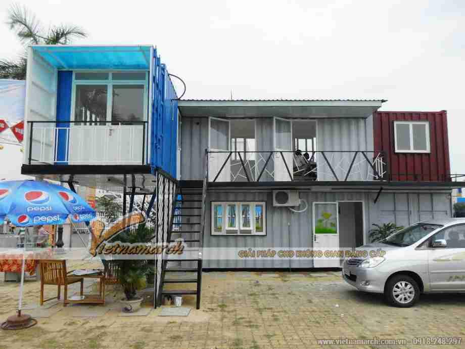 Những mẫu nhà Container hai tầng mà bạn không nên bỏ qua
