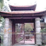 Những mẫu thiết kế cổng nhà thờ họ đẹp sang trọng cho nhà thờ họ gia đình