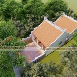 Thiết kế nhà thờ họ chữ Nhị – anh Thanh tại Thái Bình