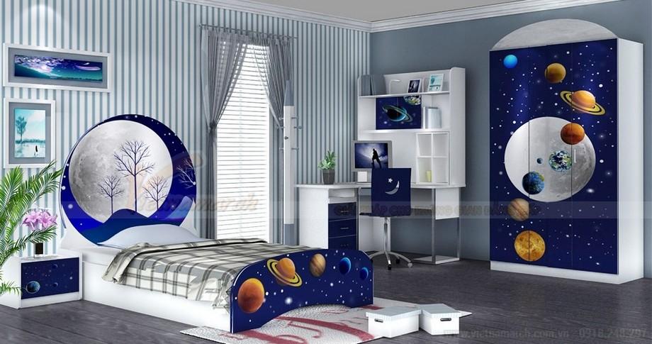 Thiết kế nội thất phòng ngủ cho trẻ với không gian siêu nhỏ 04