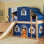 Thiết kế nội thất thông minh phòng ngủ cho trẻ giúp kích thích phát triển trí não.