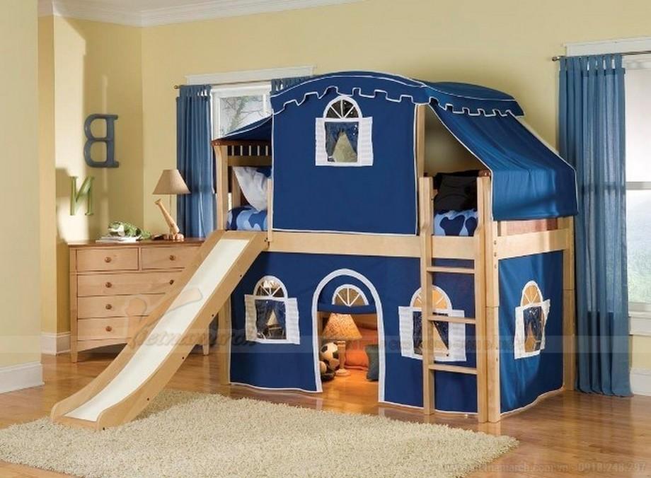Tư vấn thiết kế nội thất phòng ngủ cho trẻ với không gian siêu nhỏ