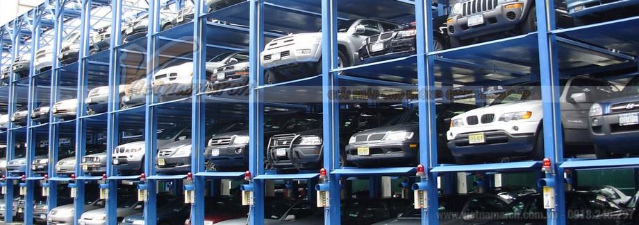 Hệ thống bãi đỗ xe thông minh hiện đại
