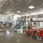 Khám phá văn phòng làm việc của công ty kiến trúc KSM ở Ấn Độ