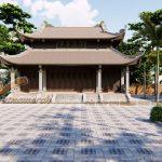 Hồ sơ thiết kế nhà thờ tổ 8 mái nhà anh Âu ở Thanh Hóa