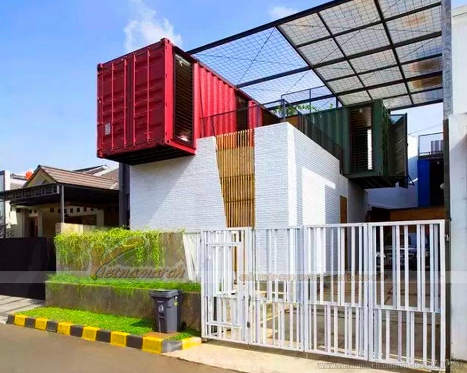 Những mẫu nhà hai tầng được xây dựng từ Container vừa độc đáo vừa tiết kiệm