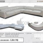 Sofa góc L DG 1037  Rigoletto Italia- tinh tế và đẳng cấp