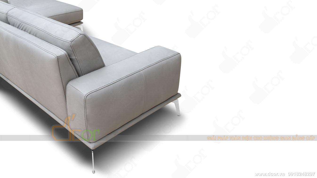 Cấu tạo khung Sofa da thật 100 % Tivoli Sectional Sofa