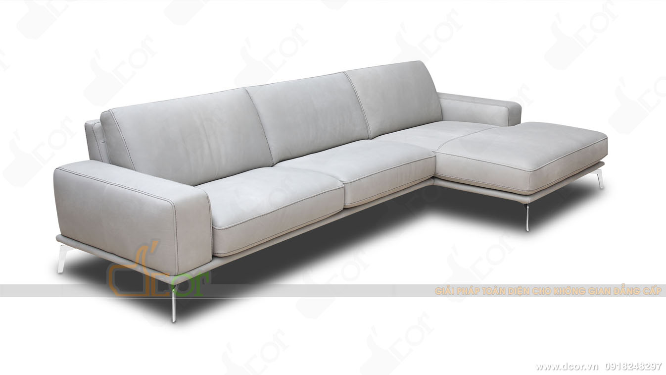 Sofa da thật 100 % Tivoli Sectional Sofa đẹp mê mẩn