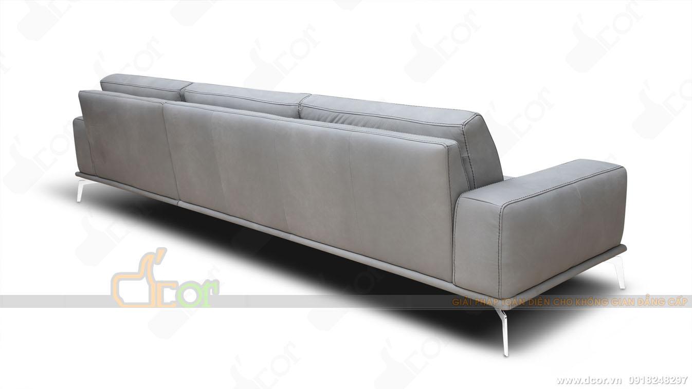 Cấu tạo đệm lưng Sofa da thật 100 % Tivoli Sectional Sofa