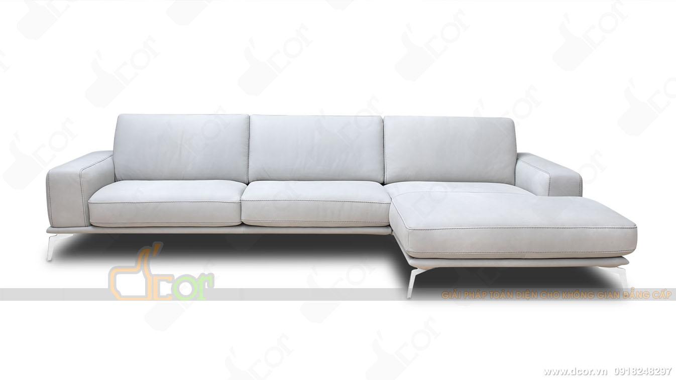 sofa da thật 100 % Tivoli Sectional Sofa