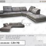 Sofa góc DG 1043 Venere Italia – Sức quyến rũ không thể chối từ