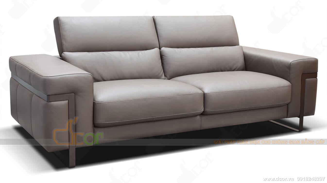 Sofa da nhập khẩu cao cấp DV 1036 Ponte Italia