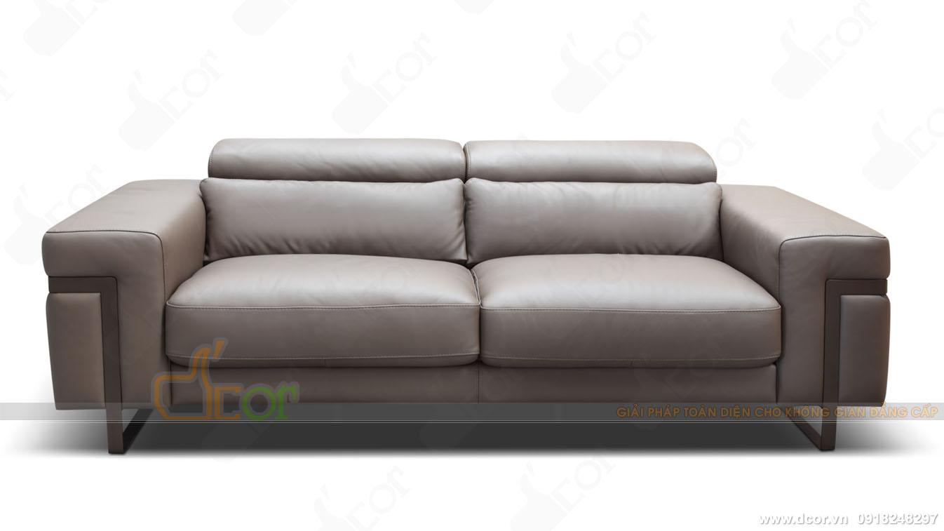 sofa văng da nhập khẩu cao cấp DV 1036 Ponte Italia