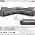 Sofa da nhập khẩu cao cấp DV 1036 Ponte Italia mê đắm lòng người
