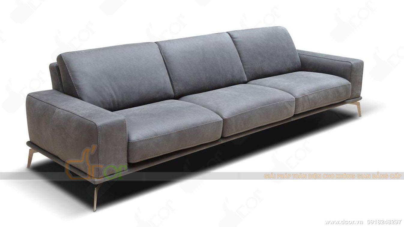 Sofa da nhập khẩu Saporini Tivoli Italia