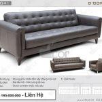 Mãn nhãn với ghế sofa phòng khách xa hoa DV 1041 Tonia Italia