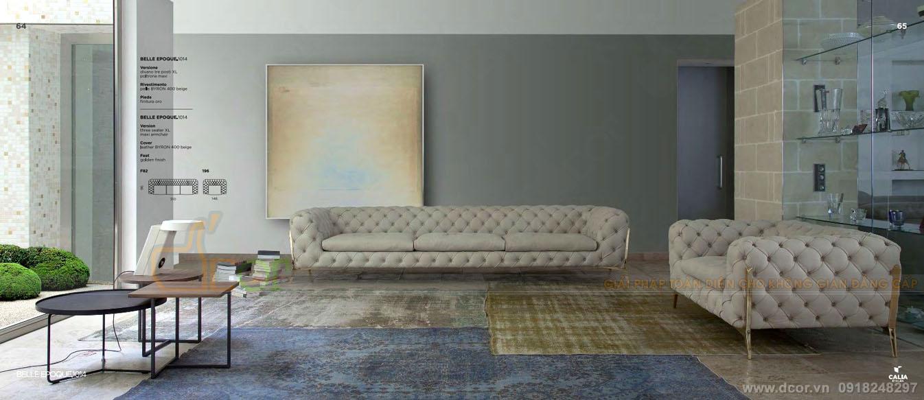 Sofa tân cổ điển DV 1044 Belle Epoque - sofa Calia Italia