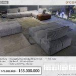 Sofa da phòng khách NV 1046- CAL 827- TANGO Italia và sự biến tấu kỳ diệu về màu sắc