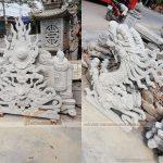 100 Mẫu hoa văn, cấu kiện trang trí cho nhà thờ họ, đình, chùa – Đúc khuôn bê tông.